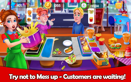Tasty Kitchen Chef: Crazy Restaurant Cooking Games filehippodl screenshot 8