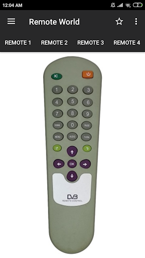 dd free dish remote control (36 in 1) screenshot 1