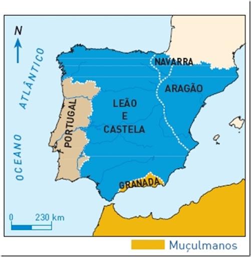 A Península Ibérica nos finais do século XIII