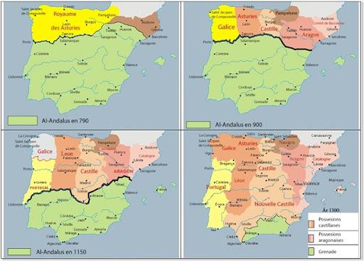 Cronologia da reconquista cristã da Península Ibérica