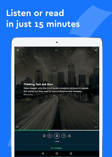 Screenshot 6 for Blinkist's Android app'