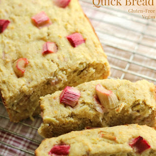 Rhubarb Orange Quick Bread
