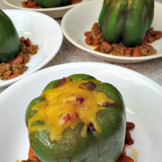 Bell Pepper Chili Bowls