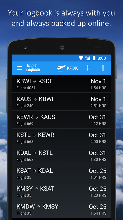Smart logbook android apps on google play smart logbook screenshot pronofoot35fo Choice Image