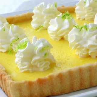 Tangy Lemon-Limoncello Pie.