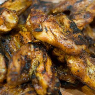 Smoked and Then Grilled Chicken Wings