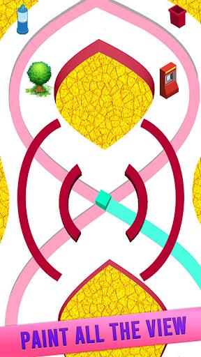 Code Triche Color Line Jeu 3D APK MOD (Astuce) screenshots 3