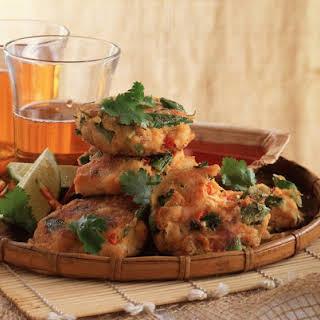 Thai Crab Cakes.