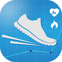 Pedometer Step Counter - Calorie Counter App icon