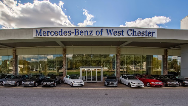 mercedes benz of west chester google