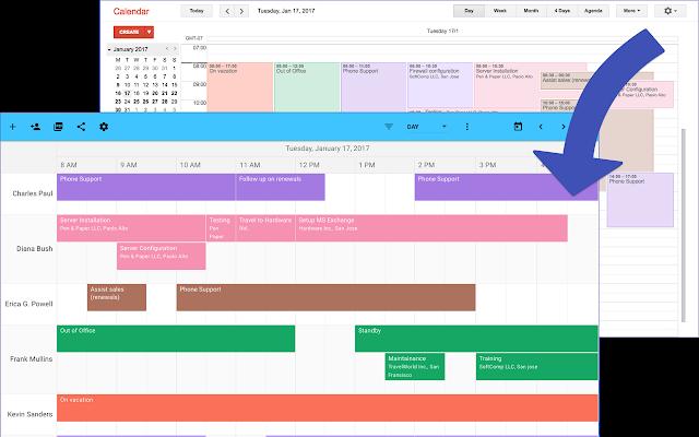 TeamCal for Google Calendar™