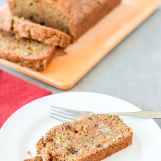 Fabulous Healthy Zucchini Bread.