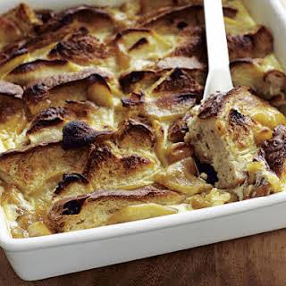 Apple Bread Pudding.