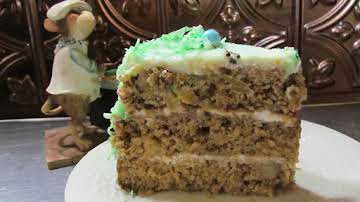 Hummingbird Surprise Cake