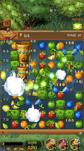 Fruits Forest : Rainbow Apple 1.2.9 screenshots 3