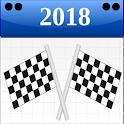 Formula Race Calendar 2018 icon