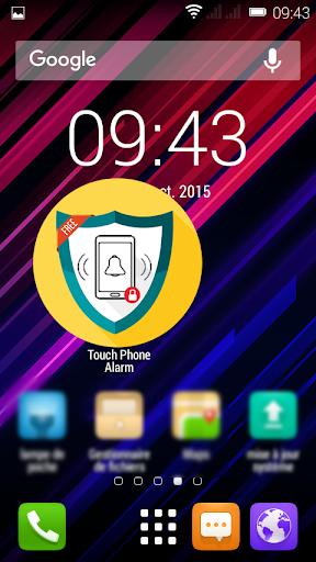 Touch Phone Alarm