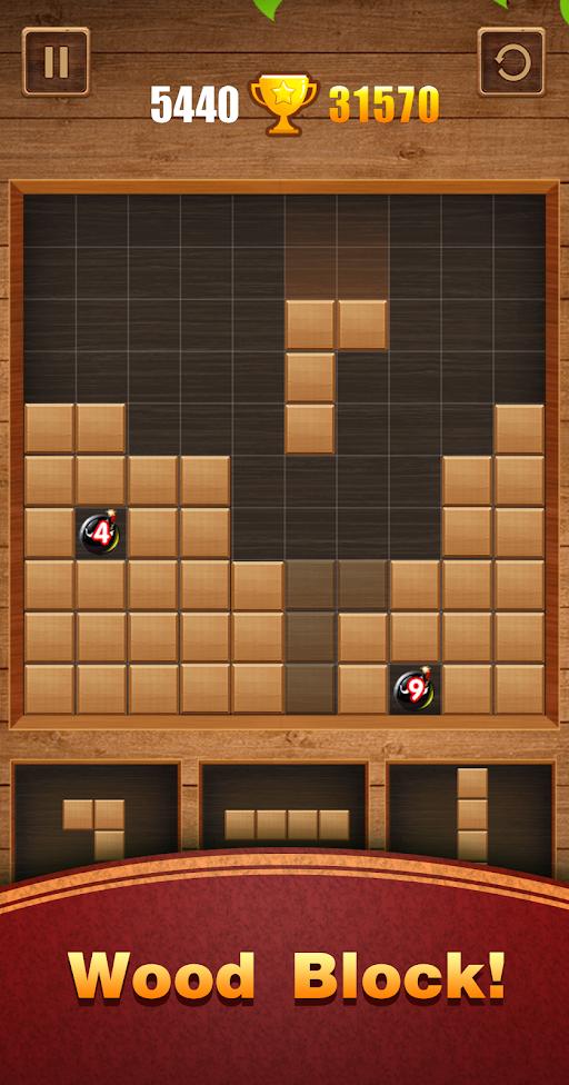 Wood Block Puzzle APK 2.4 screenshots 2