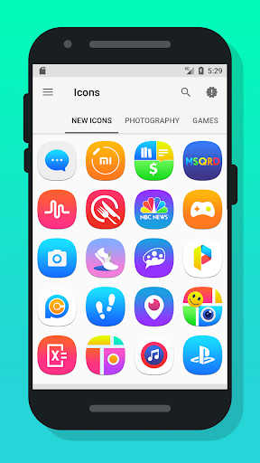 Meebon - Icon Pack app (apk) free download for Android/PC/Windows screenshot