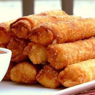 Fried Mozzarella-Pepperoni Sticks.