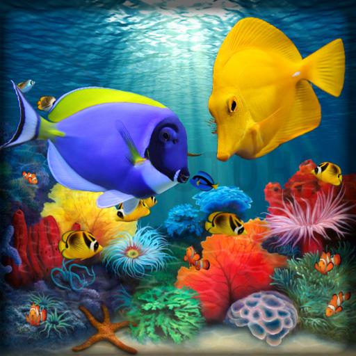 Fish Live Wallpaper 3D: Aquarium Phone Background