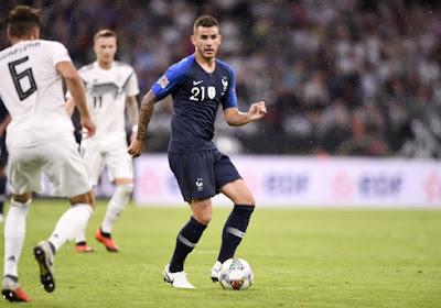 """Lucas Hernandez satisfait du groupe de la France : """"Tant mieux qu'on joue les grands dès le début"""""""