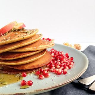 Dairy-free Pumpkin Smoothie Pancakes (vegan Option).