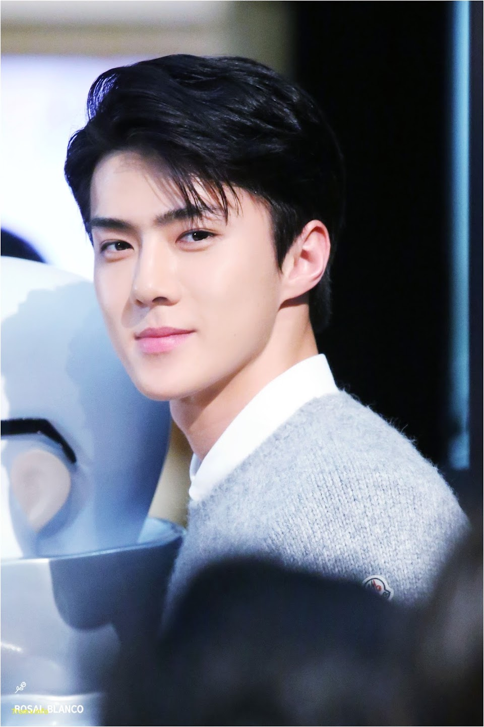 korean haircuts male 2017 Fresh smiling sehun is rare this a picture that should be kept in a