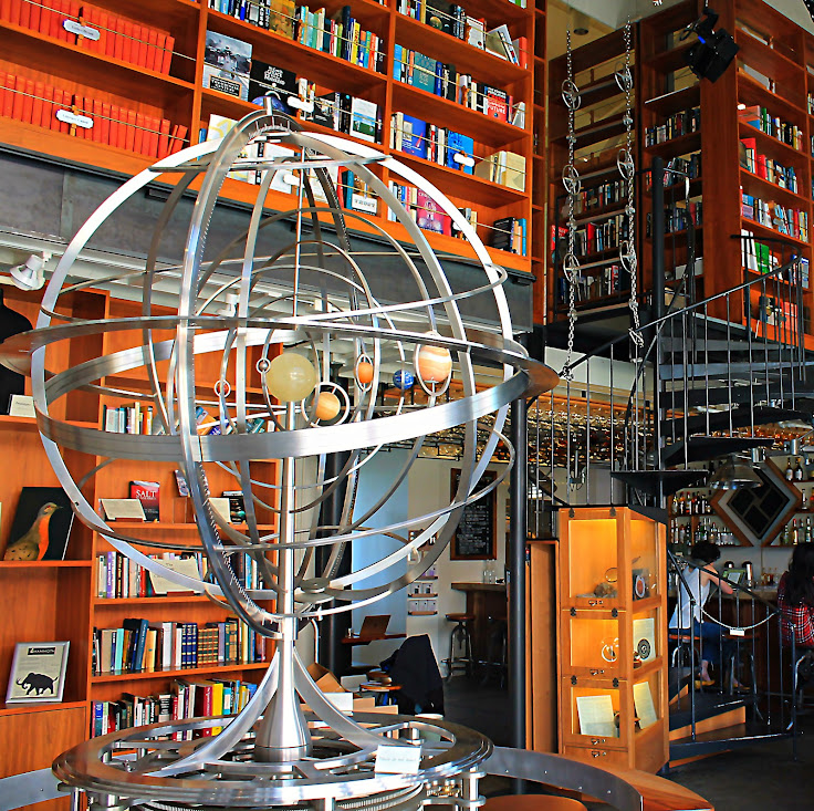The Orrery, which features all the planets visible from Earth with the unaided eye.