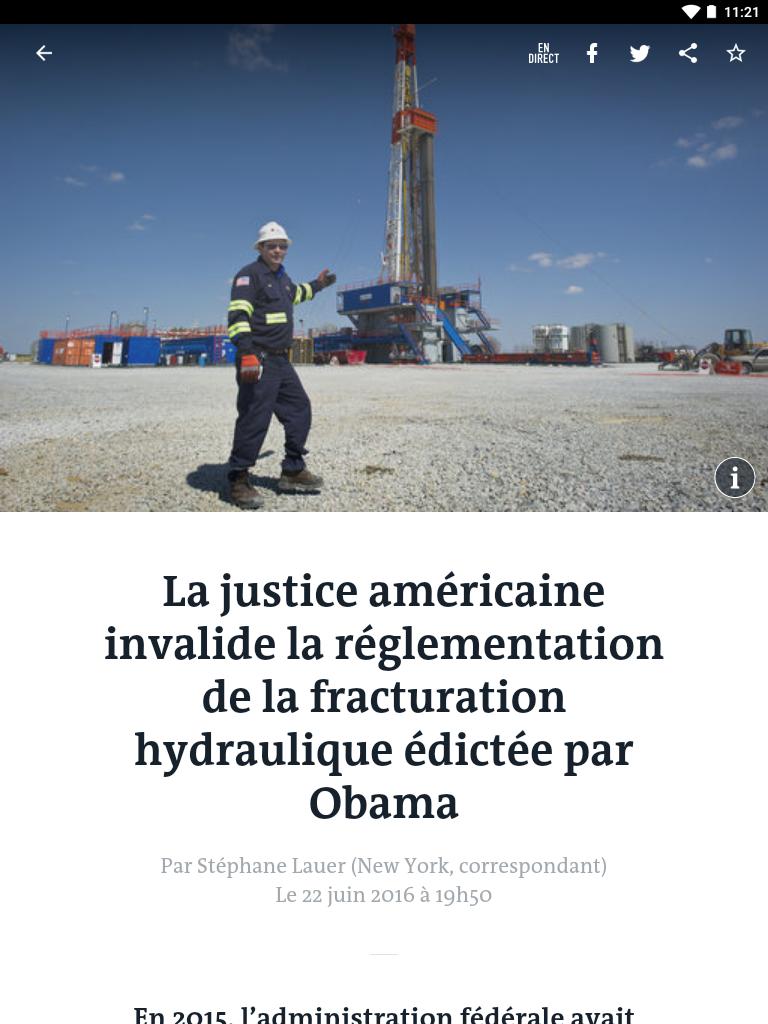 Le Monde, l'info en continu screenshot #11