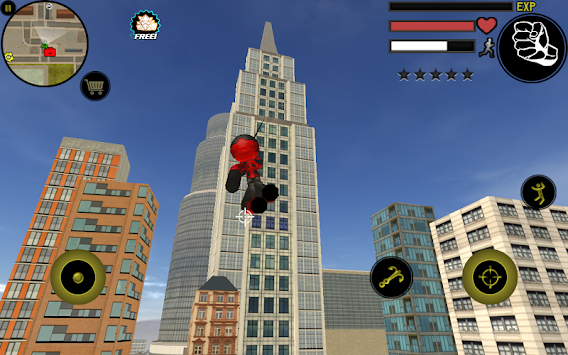 Stickman Rope Hero apk screenshot