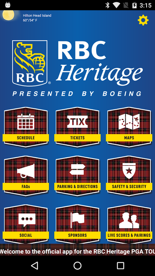 RBC Heritage- screenshot