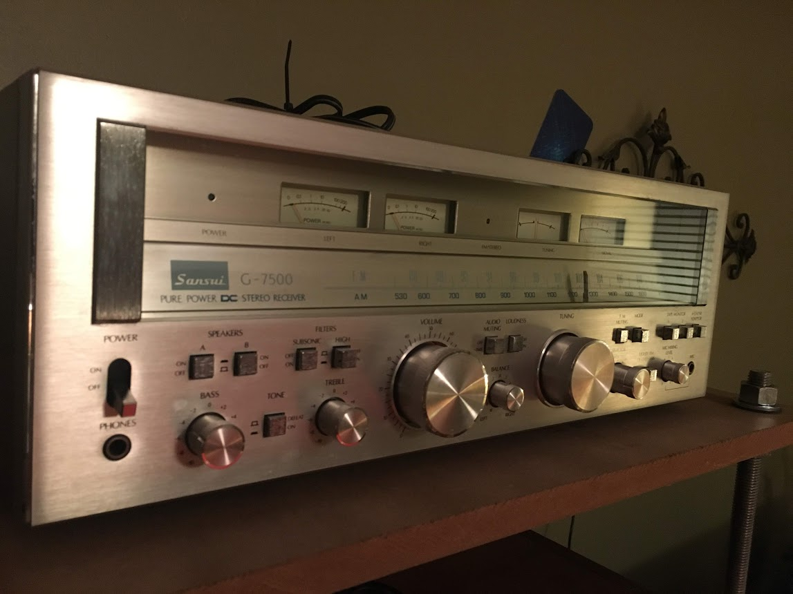 Sansui G7500 | Audiokarma Home Audio Stereo Discussion Forums