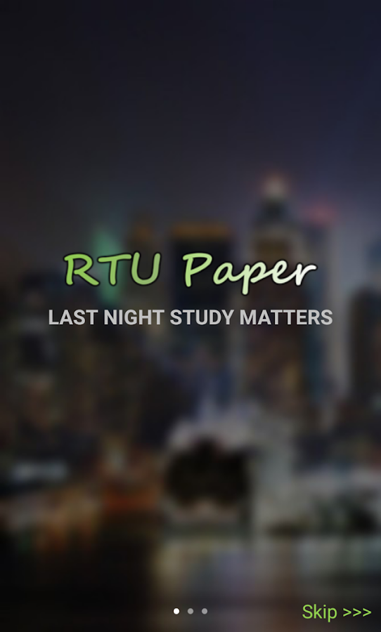 RTU Paper- screenshot
