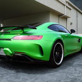 GTR by JEFFREY LORBER - Transportation Automobiles ( benz, rust 'n chrome, green, exotic car, lorberphoto, memrcedes )