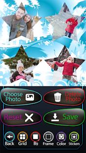 Zimní fotografická koláž - náhled
