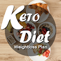 Keto Diet Weight loss Plan icon