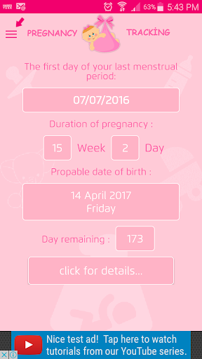 Pregnancy Tracker screenshot