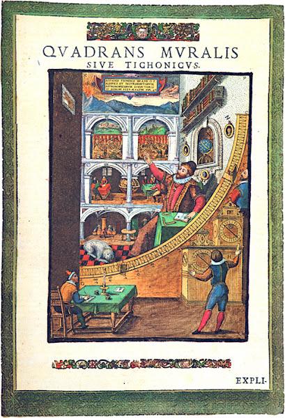 Photo: Tycho Brahe: Astronomiae Instauratae Mechanica. Wandsbek 1598. Bilden tillhör Public domain enligt Wikimedia Commons.