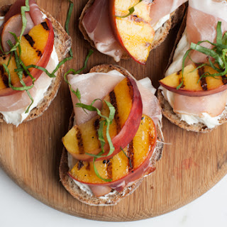 Peach Toasts