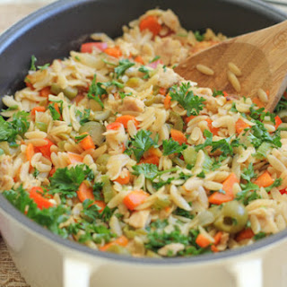 Orzo with Tuna.