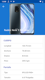 CPU X Premium: Información del dispositivo y del sistema 5