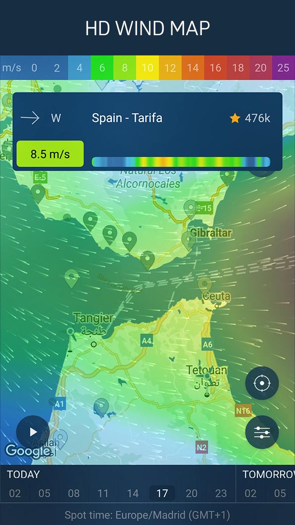 WINDY APP: wind forecast & marine weather Screenshot 1