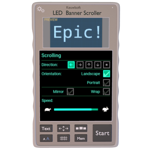 LED Banner Scroller Android APK Download Free By KHTSXR