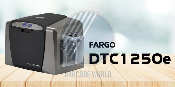 Máy in thẻ nhân viên Fargo DTC1250e chính hãng, chất lượng I Thế Giới Mã Vạch
