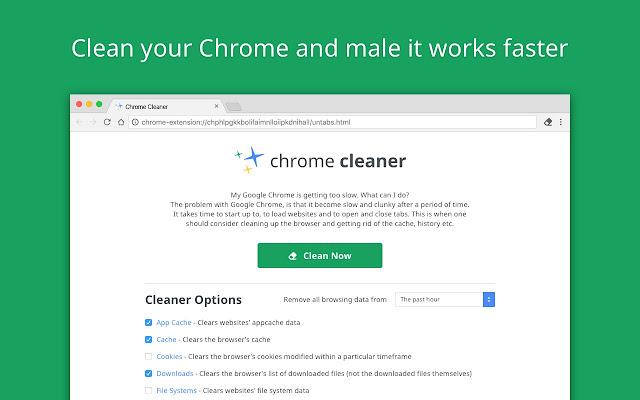 Chrome Cleaner