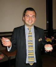 Photo: Kaupunginvaltuuston puheenjohtaja - stadsfullmäktiges ordförande Joakim Strand.