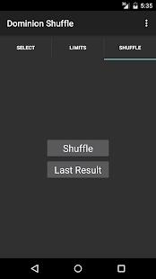 Dominion Shuffle - náhled