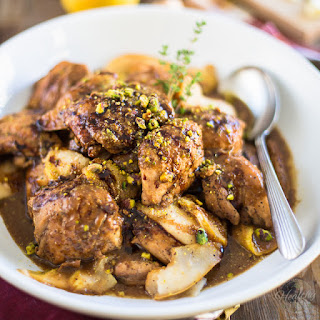 Pear and Balsamic Chicken