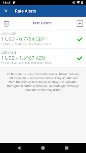XE Currency Converter Pro Screenshot